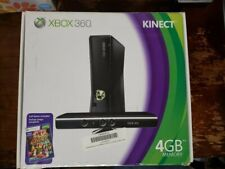 Microsoft Xbox 360 S 4GB Hard Drive with Kinect Complete Black Console(MATTE)