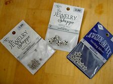 NEW STERLING SILVER 925 THE JEWELRY SHOPPE BALI & DAISY SPACER BEADS 31PC, 3PKS