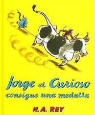 Jorge el Curioso Consigue una Medalla (Curious George Green Light-ExLibrary