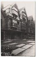BRISTOL - St Peter's Hospital - c1920s era Real Photo postcard