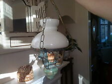 REDUCED ceiling light fishermans lantern chandelier retro hipster vintage BNWB