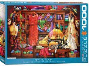 Eurographics 1000 Piece Jigsaw Puzzle - The Sewing Room