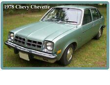 1978 Chevy Chevette Auto Refrigerator / Tool Box Magnet