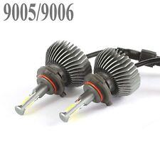 60W 6000lm COB 9006 LED Headlight Kit 9005 Low beams HID 6000K White Bulbs