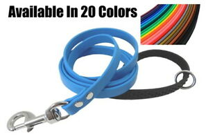 BioThane SUPER SOFT GRIP HANDLE Waterproof Easy Clean 6 Ft Dog Leash Made in USA