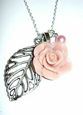 Handmade Pearl Charm Costume Necklaces & Pendants
