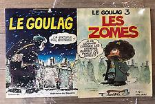 """LOT 2 BD DIMITRI """" LE GOULAG """" E.O. Tome 1 et 3 TTBE+ EPUISE"""
