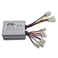 24V 350W Motor Brush Speed Controller For EV Electric Bikes Bicycle Scooter