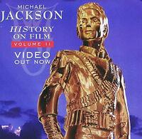 MICHAEL JACKSON 1995 ORIGINAL HISTORY BOOK II PROMO POSTER