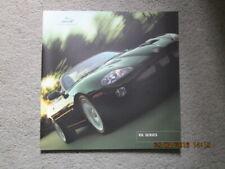 NOS Jaguar XK8 XKR 4.0 Large Format Sales Brochure 2001 Model Coupe Convertible