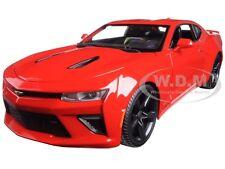 2016 CHEVROLET CAMARO SS RED 1:18 DIECAST MODEL CAR BY MAISTO 31689
