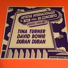 DURAN DURAN ARTISTAS INTERNACIONALES EN CONCIERTO 87 SPAIN PROMO ONLY LP