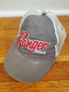 Ranger Boats Cap Hat Adjustable Adult Mesh Snapback