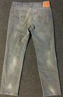 Levi's 541 Jeans 38/32 Grey Faded Vtg 90s Athletic Fit Pants 501 511 Grunge USA