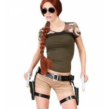 Lara Croft Style Tomb Raider Twin Guns & Holster Fancy dress