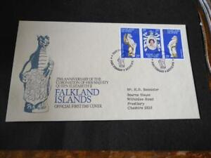 Falkland Islands 1978 25th Anniversary of the Coronation First Day Cover