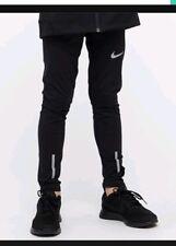 Nike Boys Girls Unisex Power Full length  Tights Black Football Sports 12 -13yrs