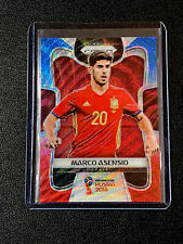 2018 Panini Prizm World Cup Soccer MARCO ASENSIO RED BLUE WAVE PRIZM SPAIN SP
