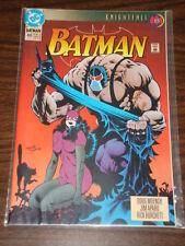 BATMAN #498 DC COMICS DARK KNIGHT NM CONDITION CATWOMAN BANE AUGUST 1993