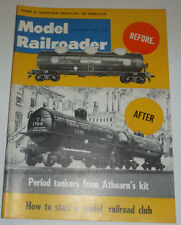 Model Railroader Magazine Period Tankers From Athearn Kit September 1962 120914R
