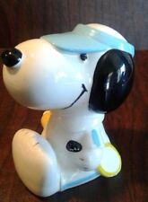 VINTAGE SNOOPY BANK 1958 1962 TENNIS United Feature Syndicate PEANUTS GANG
