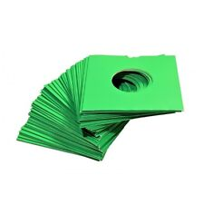 "50 X 7"" GREEN CARD RECORD MASTERBAGS SLEEVES / COVERS *NEW*"