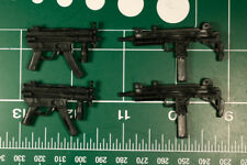 Custom Arsenal pack resin black cast 1:12 uzi mp5 legends