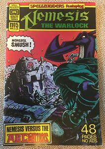 Quality Comics Spellbinders No 5 April 1987 Nemesis The Warlock Copper Age Comic