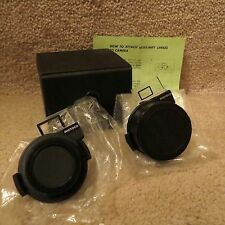 2 Photoco Lens in Case - Telephoto & Wide Angle for Ricoh AF-5