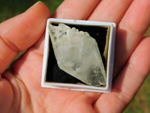 Calcite Crystal Double Terminated from Elmwood Mine Tennessee Cleansing Energy