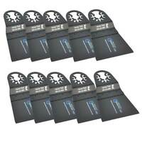 Versa Tool AB10D 65mm HCS Multi-Tool Saw Blades 10/Pk Fits Fein Multimaster