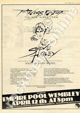 Steve Harley Cockney Rebel Timeless Flight Empire Pool LP show advert 1976