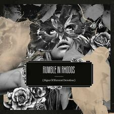 Cd new sealed-rumble in rhodos-signs of fervent devotion/digipack-c38