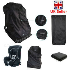 Waterproof Portable Car Child Baby Safety Seat Bag Cover Travel Storage Black UK