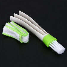 Car Air Outlet Vent Dust Cleaning Brush Dustpan Dashboard Keyboard Clean Tool