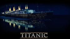 Iconic Titanic Ship  Wall Art Print Poster | Sizes A4 A3 A1 A2 | E205