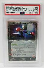 Pokemon EX Team Rocket Returns Rocket's Hitmonchan 98/109 PSA 9 Mint #28224806