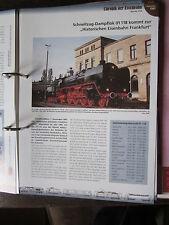 Chronik der Eisenbahn 4/5A: 1981 01 118 zur Historischen Eisenbahn FRankfurt