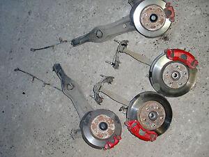 BIG BRAKE SWAP vo. 282mm hi. 262mm Honda CRX EH6 Civic EG3 EG4 EG8 EJ2 Bj.92-98