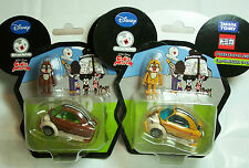 CUBIC MOUTH, CHIP & DALE, Mickey & Friends in Disney Motors xTakara Tomy, NEW