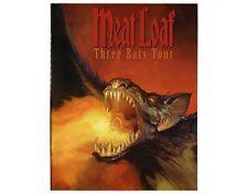 Meat Loaf Three Bats Tour 2007 Tour Programme 32 Pages Item
