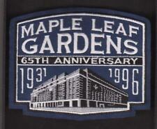 TORONTO MAPLE LEAF GARDENS 65TH ANNIVERSARY PATCH  MAPLE  LEAFS JERSEY PATCH
