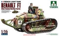 Takom 1/16 1003 French Light Tank Renault FT(Char Canon/Berliet Turret)