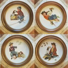 Norman Rockwell's Four Seasons Collector Plates