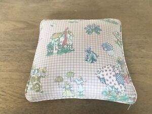 Laura Ashley Rare Vintage 1990's Mary Mary Quite Contrary small cushion