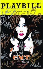 The Cher Show Original Broadway Cast SIGNED Playbill Stephanie J. Block COA
