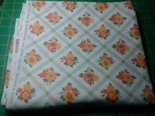 Dream On by Urban Chiks for Moda, green lattice floral, 1 yard and 30 inches