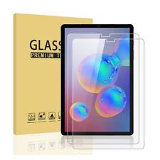 2x SDTEK Protector de Pantalla para Samsung Galaxy Tab S6 Vidrio Templado