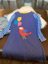 Mini Boden Birthday Dress With Applique Balloons Size 7-8