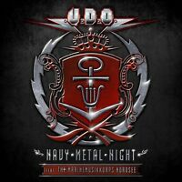 U.D.O. - NAVY METAL NIGHT (2CD+BLU-RAY) 2 CD + BLU-RAY NEU